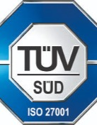 Certification of Management Service ISO/IEC 27001:2013 (TUV)
