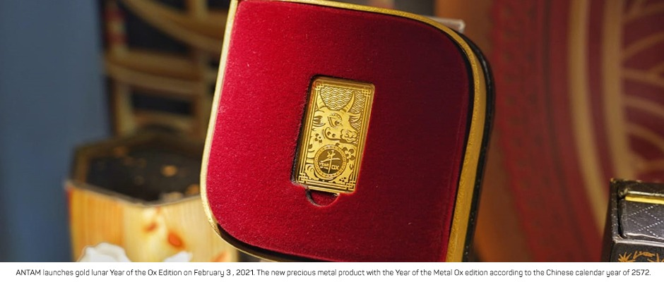 ANTAM Launches Gold Lunar Year of The Ox Edition